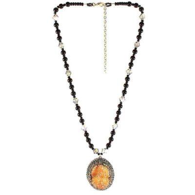 HerMJ.com - Aurous Amulet Necklace