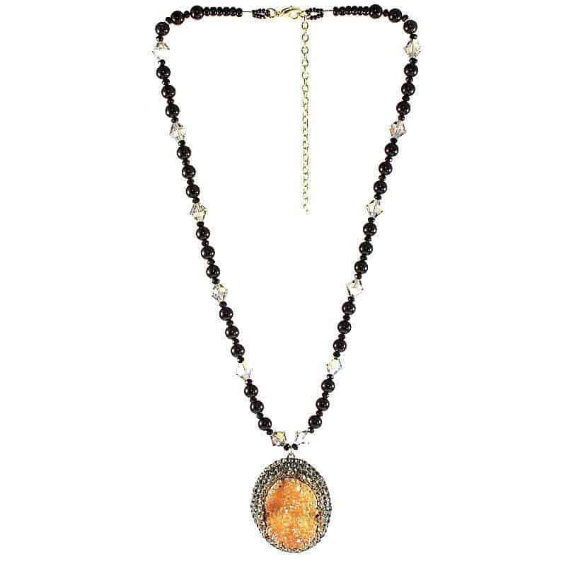 HerMJ.com - Aurous Amulet Necklace