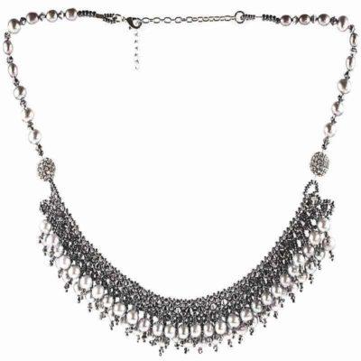 HerMJ.com - Midnight Pearl Necklace