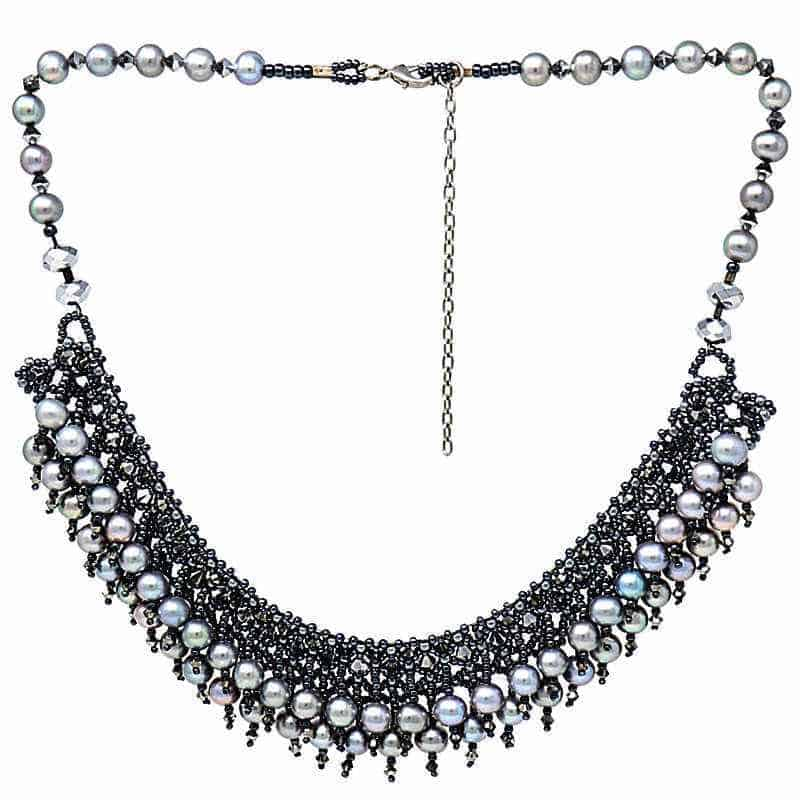 HerMJ.com - Obsidian Necklace