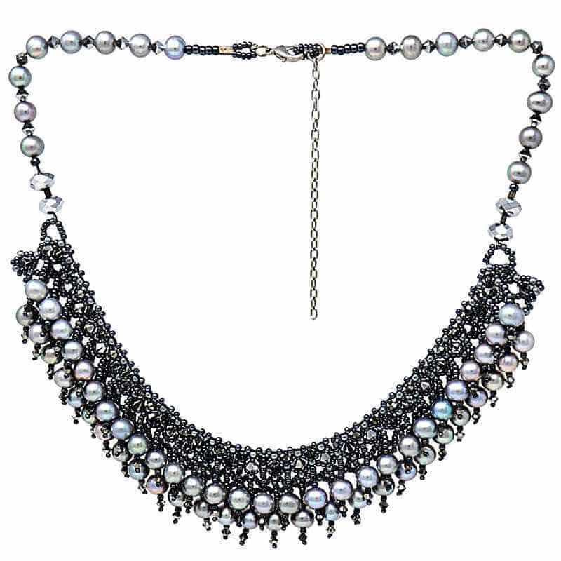 HerMJ.com - Obsidian Necklace