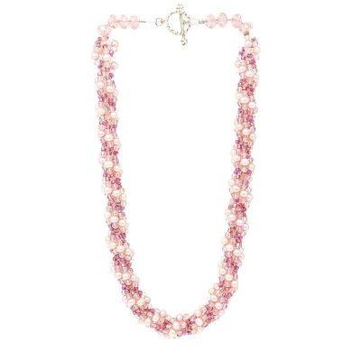 HerMJ.com - Pearl Colure Necklace