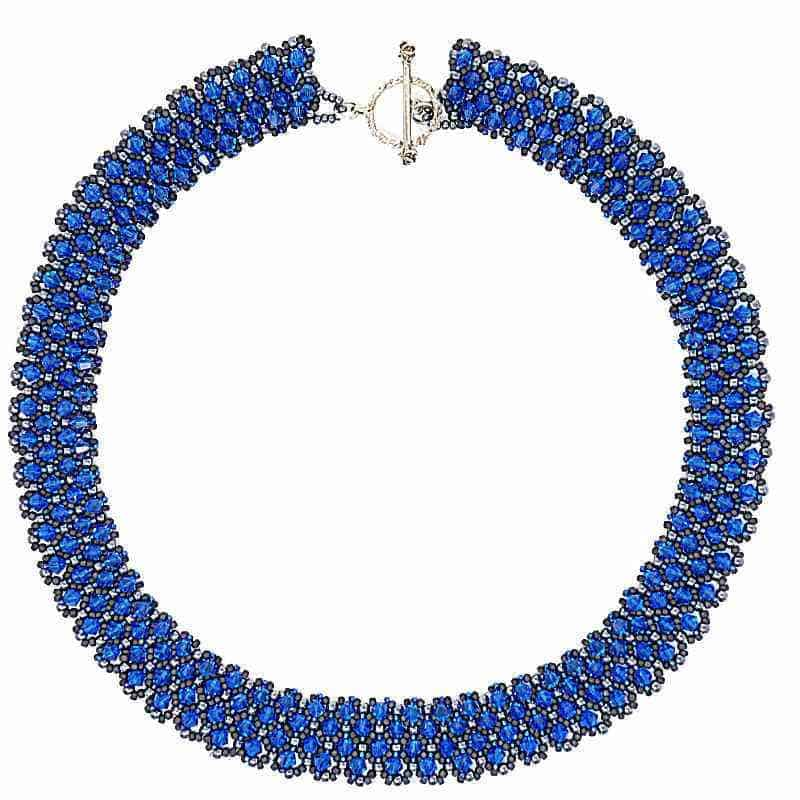 Swarovski Crystal Azure Necklace