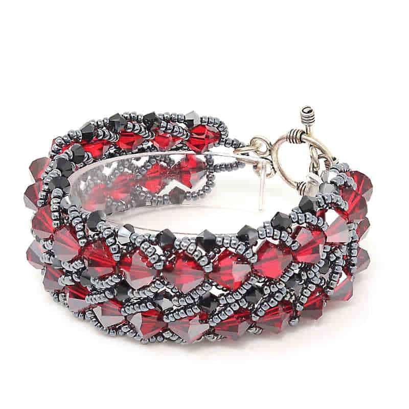 Crimson Cabaret Bracelet - HerMJ.com