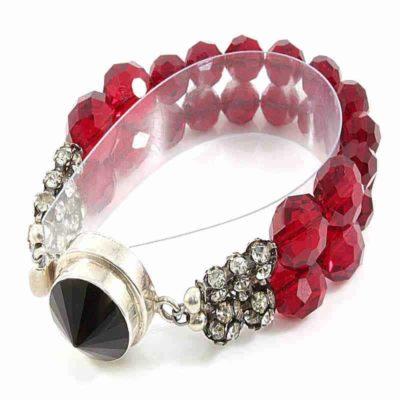 Red Reverie Bracelet - HerMJ.com