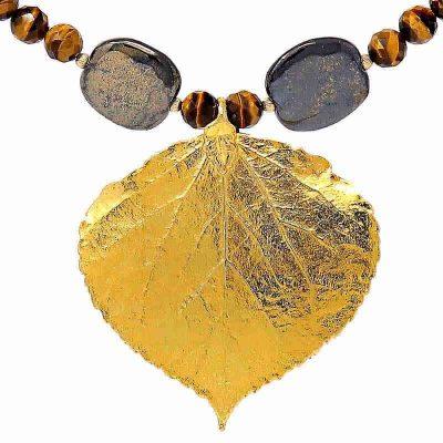 Autumn Gold Necklace - HerMJ.com