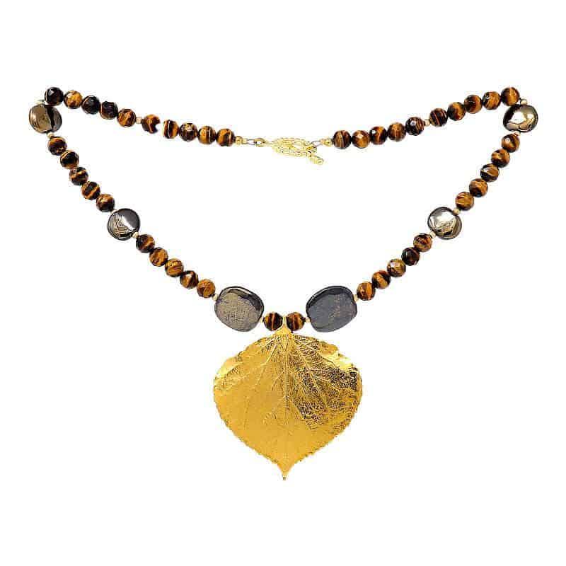 HerMJ.com - Autumn Gold Necklace