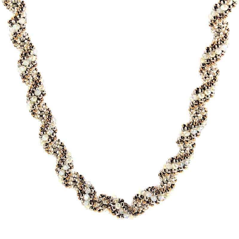 Gilded Braid Necklace - HerMJ.com