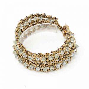 Mermaid Green Crystal Bracelet