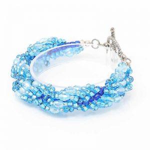 Azure Spiral Bracelet - HerMJ.com