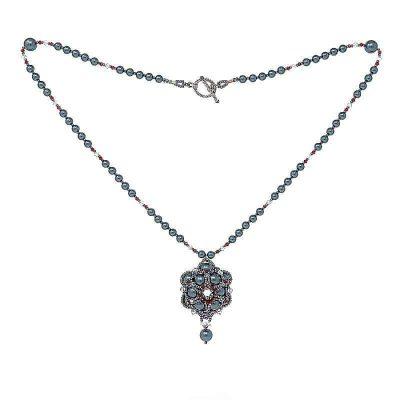 HerMJ.com - Royal Cerulean Necklace