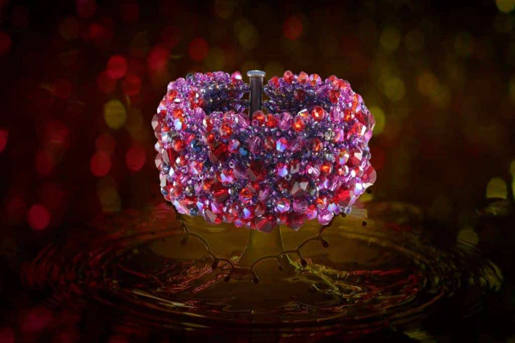 Ihre Majestät Juwelen - Crystal Splash Armband