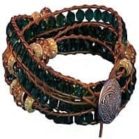 HerMJ.com - Emerald Siren Bracelet