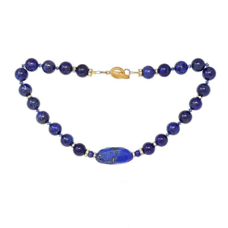 Lapis Lazuli Cleopatra Necklace