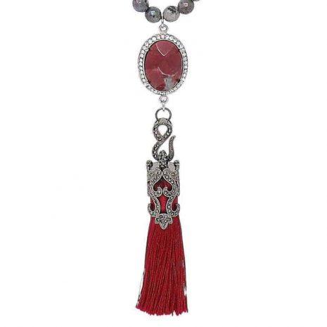 Labradorite Blaze Necklace Pendant