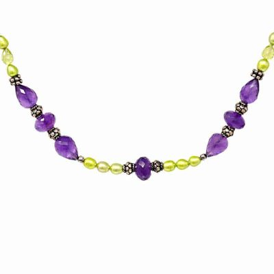Period and Amethyst Necklace