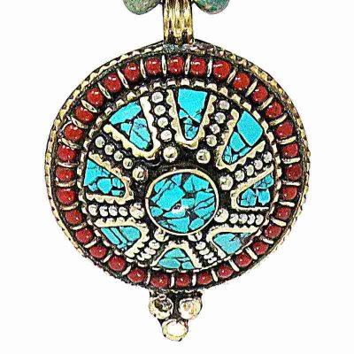 Turquoise Stone Necklace-Pendant