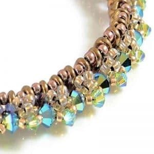 Ivy Swarovski Crystal Bracelet - detail