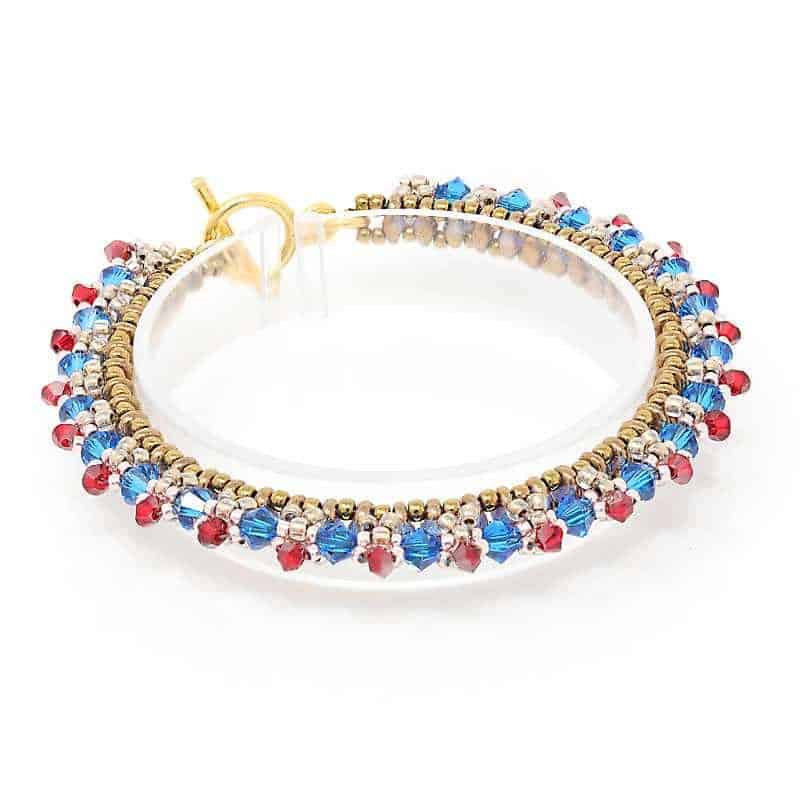 Love Swarovski Crystal Bracelet - right