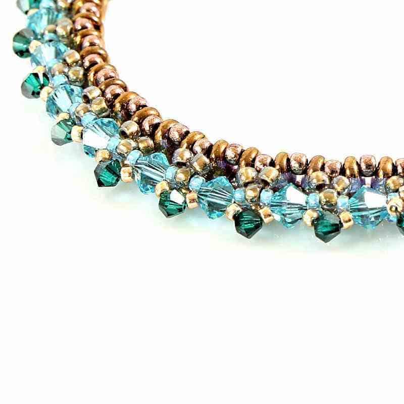 Bracelet en cristal de Swarovski Paradise • Bijoux fantaisie ...