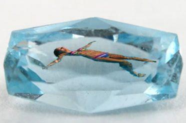 Swimming in Aquamarine