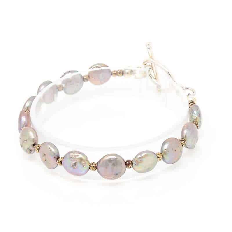 Treasure Coin Pearl Bracelet 1