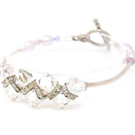 Hidden Treasures Crystal Bracelet - Left