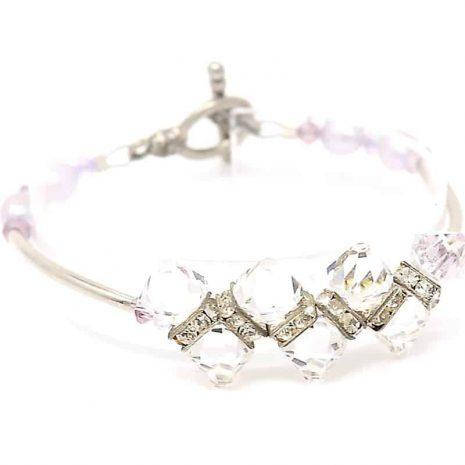 Hidden Treasures Crystal Bracelet - Right