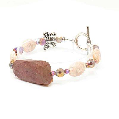 Mookaite Precious Stone Bracelet