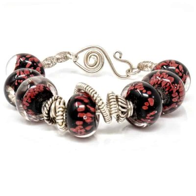Sterling Silver Glam Bracelet