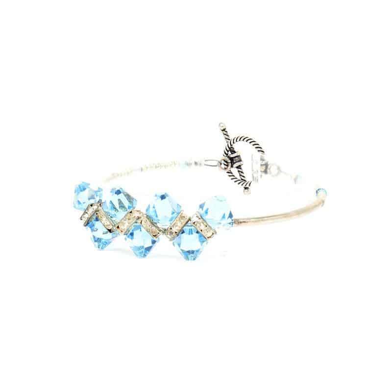 Bondi Beach Crystal Bracelet
