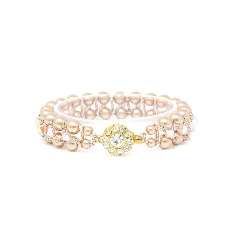 Coolaroo Gold Pearl Bracelet