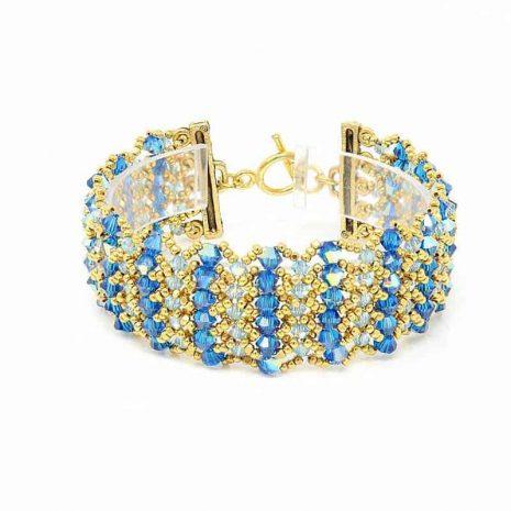 Maui Blue Bracelet - Center