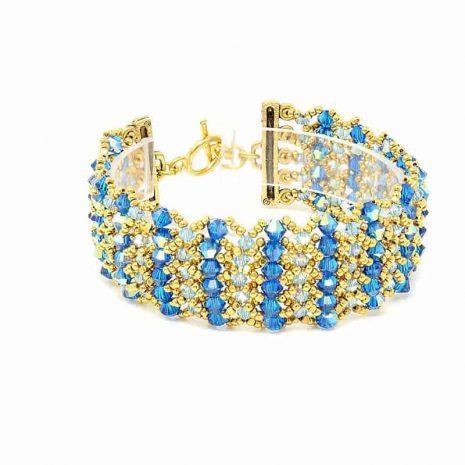 Maui Blue Bracelet - Right