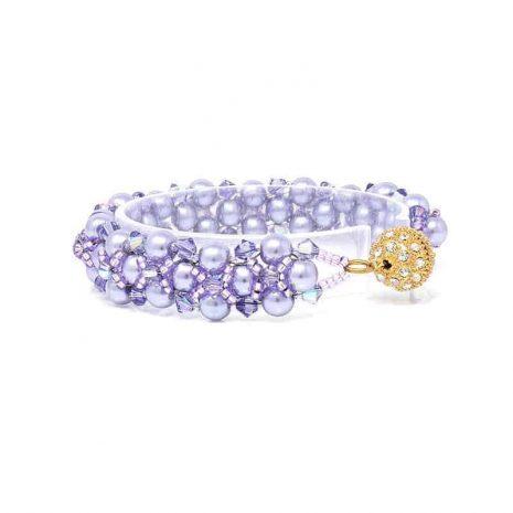 Wildflower Pearl Bracelet Right