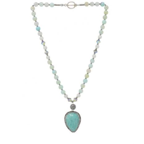 Amazonite Moonstone Necklace