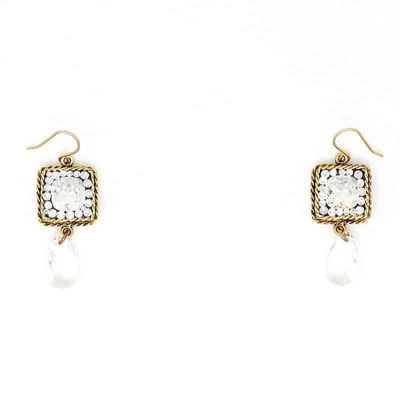 Swarovksi Crystal Bright Day Earrings