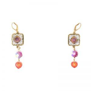 Swarovski Crystal Bollywood Earrings