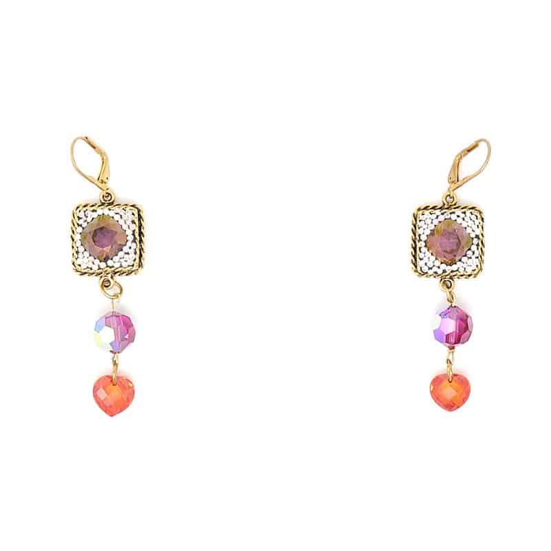 Swarovski Crystal Bollywood Earrings