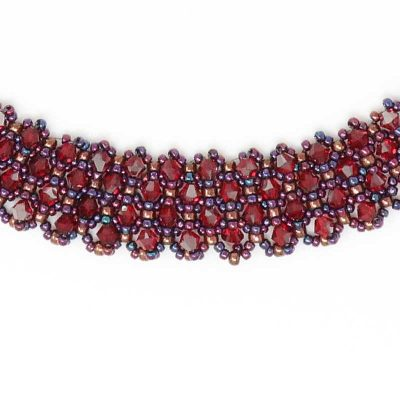 Swarovski Siam Crimson Necklace