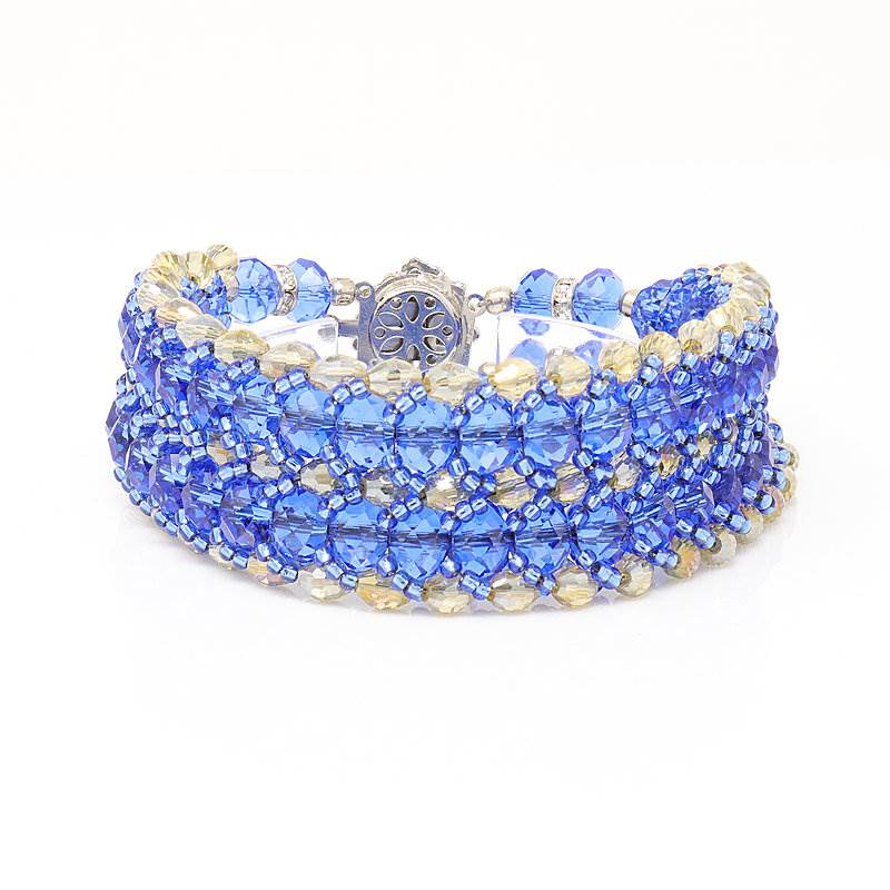 Hope Blue Crystal Bracelet