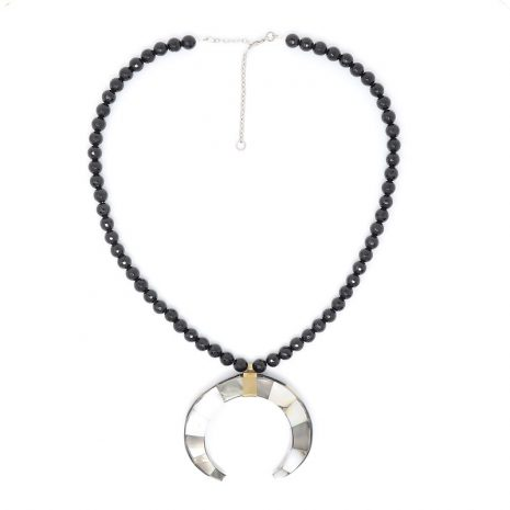 Onyx Black Mystique Necklace