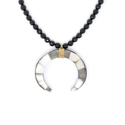 Onyx Black Mystique Necklace