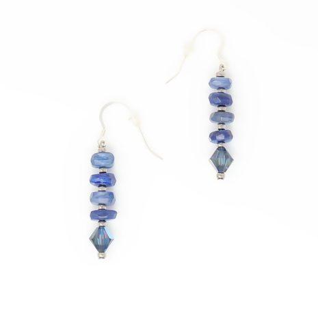Blue Kyanite Gemstone Earrings